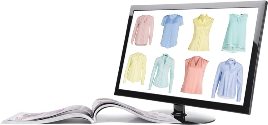 Online Shop - Bilder freistellen
