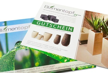 Design & Print - Gutscheine